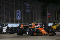 Стоффель Вандорн, McLaren MCL32, Ленс Стролл, Williams FW40