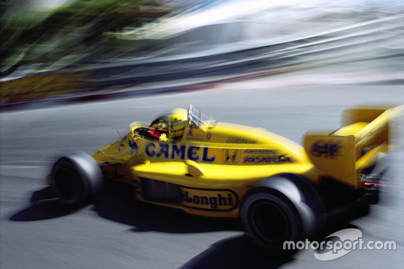 Ayrton Senna, Lotus-Honda