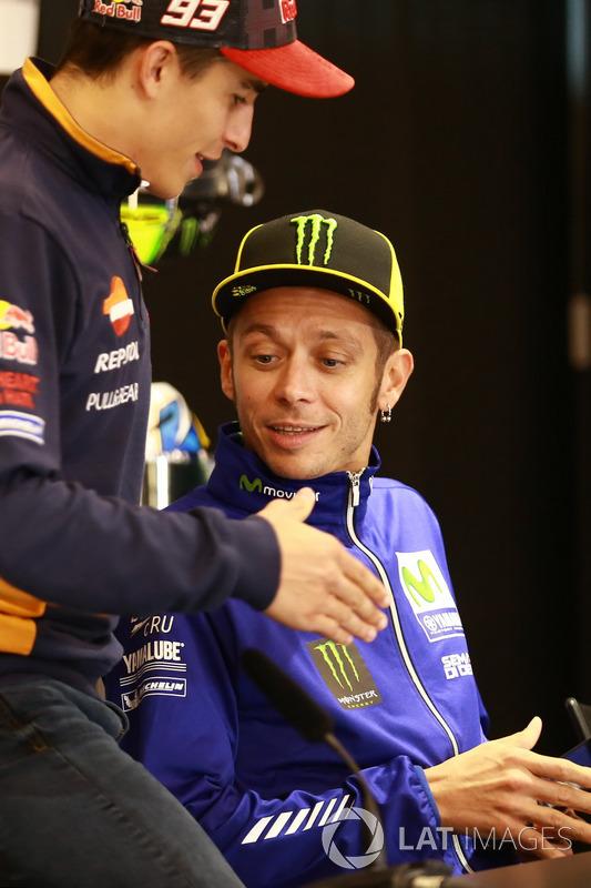 Марк Маркес, Repsol Honda Team, Валентино Россі, Yamaha Factory Racing