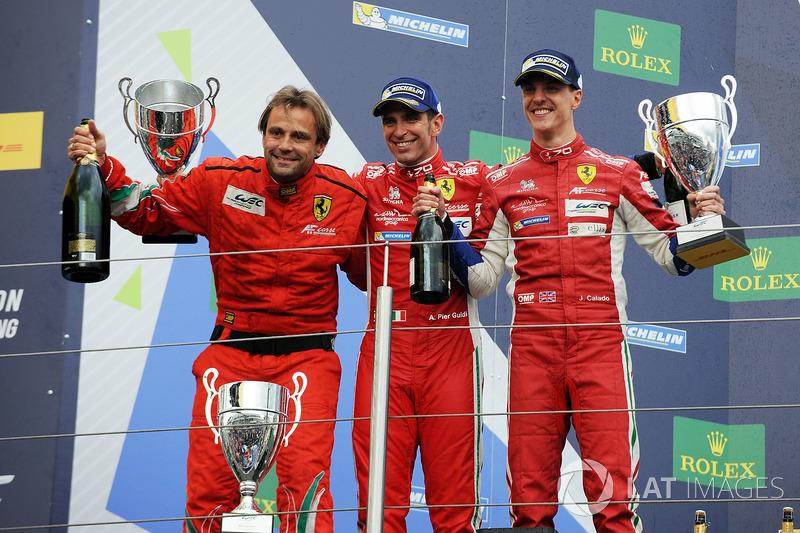 LMGTE Pro Podio: primer lugar  James Calado, Alessandro Pier Guidi, AF Corse