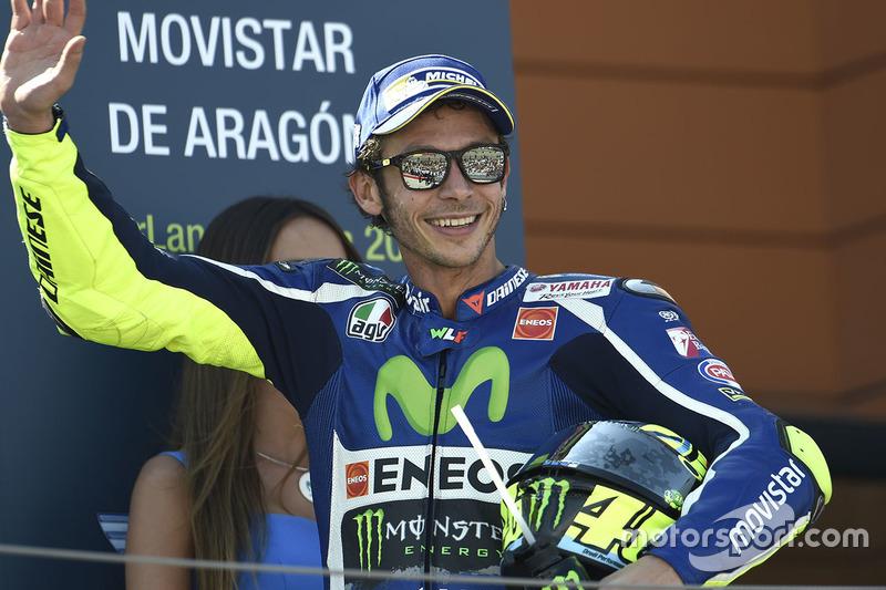 Podium: 3. Valentino Rossi, Yamaha Factory Racing