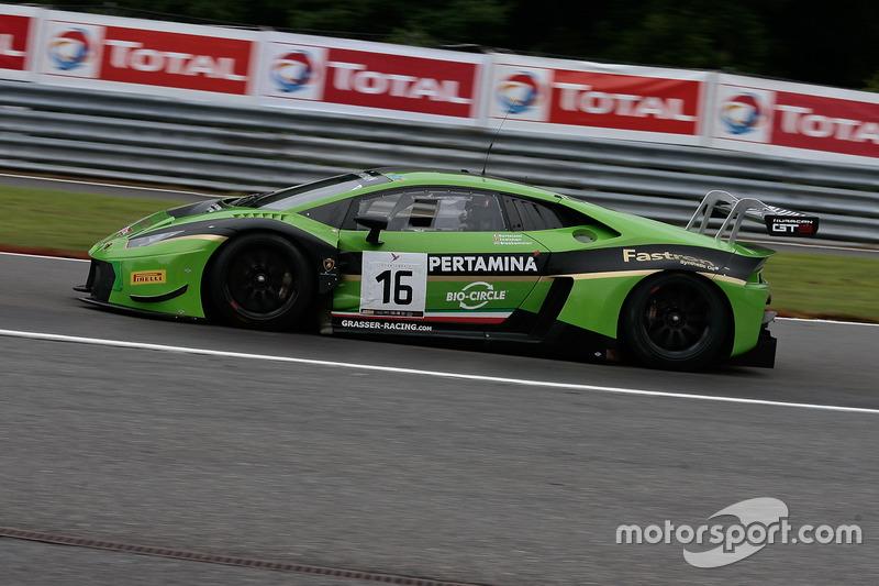 #16 GRT Grasser Racing Team Lamborghini Huracan GT3: Mirko Bortolotti, Jeroen Bleekemolen, Rolf Ineichen