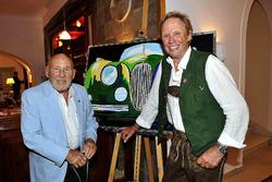 Sir Stirling Moss und Peter Kraus