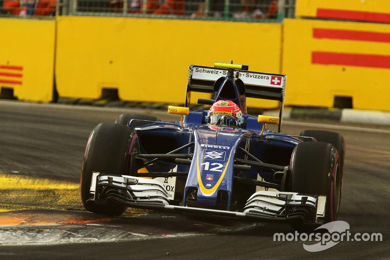 16º: Felipe Nasr, Sauber C35