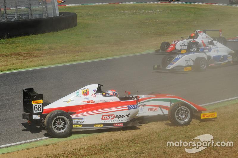 Juan Manuel Correa, Prema Powerteam dopo l'incidente con il compagno di squadra Mick Schumacher, Prema Powerteam