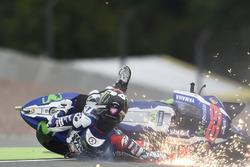 Авария Хорхе Лоренсо, Yamaha Factory Racing