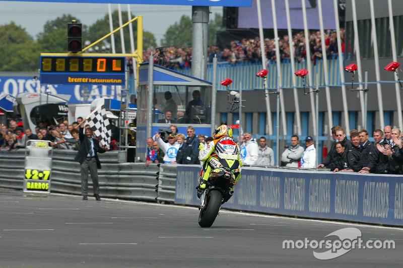 Ganador, Valentino Rossi, Honda Team