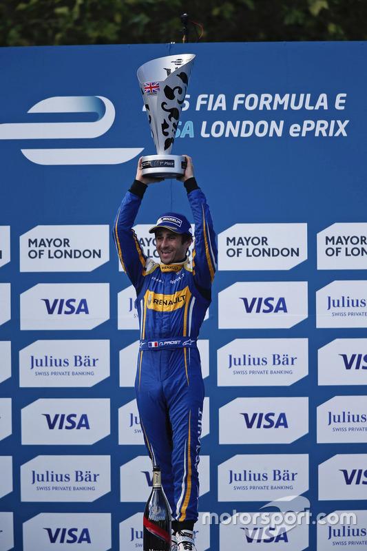 Sieger Nicolas Prost, Renault e.Dams