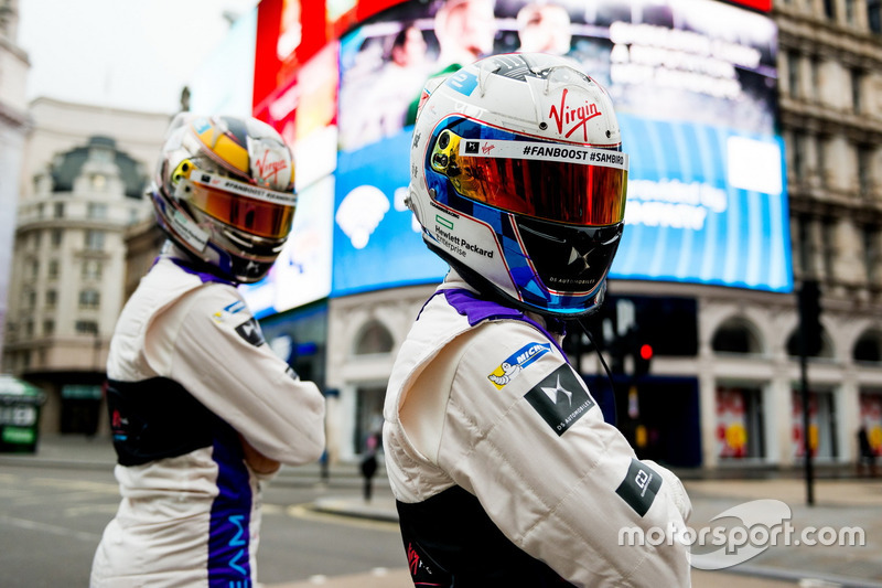 Jean-Eric Vergne and Sam Bird, DS Virgin Racing