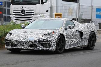 Mid-engine Chevrolet Corvette spy photo