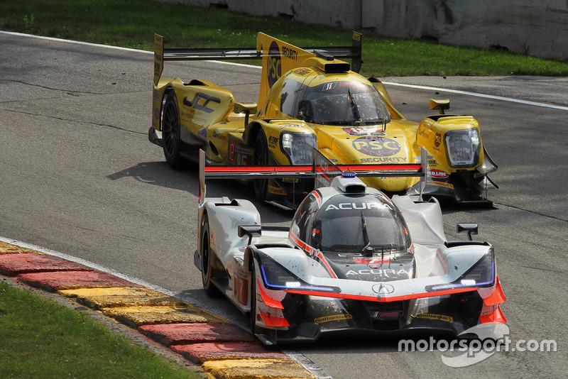 #7 Acura Team Penske Acura DPi, P - Helio Castroneves, Ricky Taylor #85 JDC/Miller Motorsports ORECA 07, P - Simon Trummer, Robert Alon