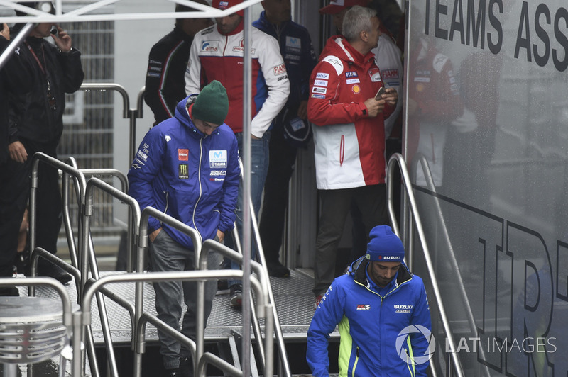 Маверік Віньялес, Yamaha Factory Racing, після засідання Комісії з безпеки