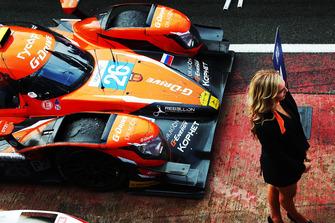 Winner car #26 G-Drive Racing Oreca 07 - Gibson: Roman Rusinov, Andrea Pizzitola, Jean-Eric Vergne