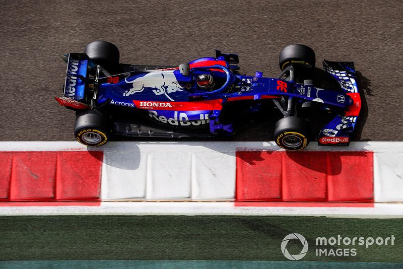 Sean Gelael, Toro Rosso STR13 Honda