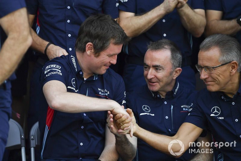 Rob Smedley, Williams és Paddy Lowe, Williams