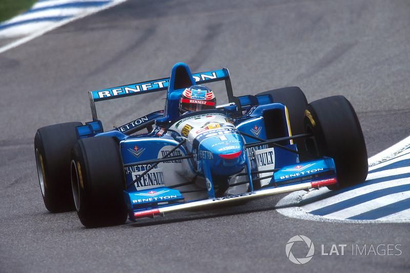 Михаэль Шумахер 5 раз устанавливал в Хоккенхайме лучший круг