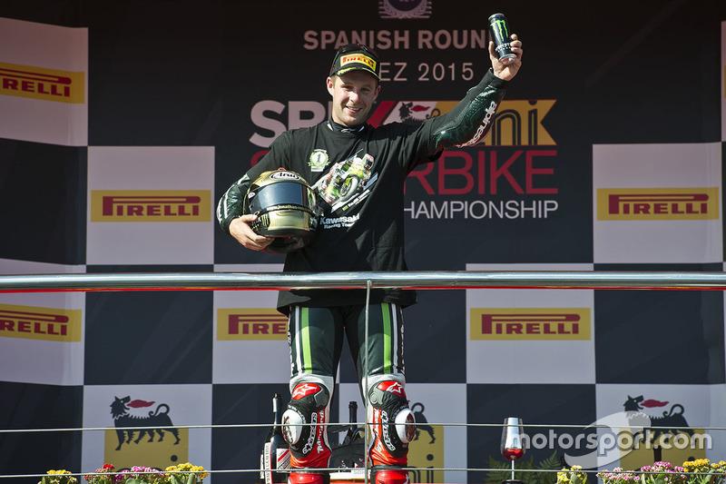 Jonathan Rea, Kawasaki Racing, ganador Jerez, 2015