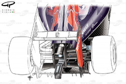 Toro Rosso STR9 rear end detail - focus on lower support wing
