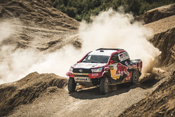 #300 Toyota Hilux: Nasser Al-Attiyah, Matthieu Baumel