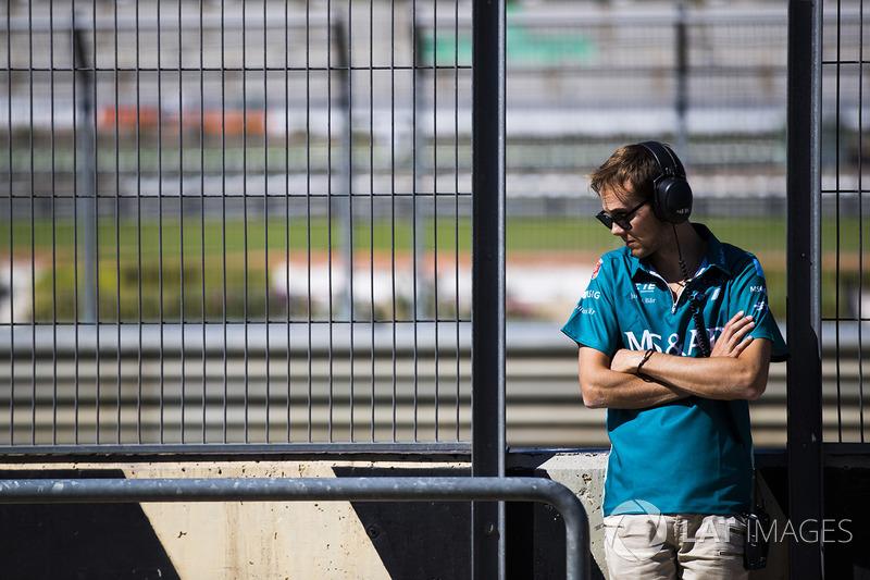 Том Бломквист, Amlin Andretti Formula E Team