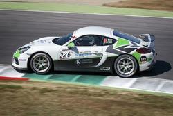 Dominik Fischli, Cayman GT4 CS