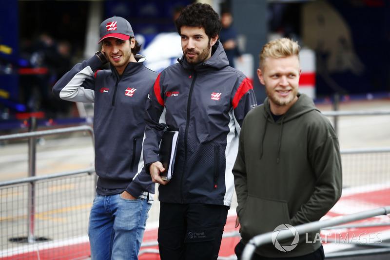 Кевін Магнуссен, антоніо Джовінацці, Haas F1 Team