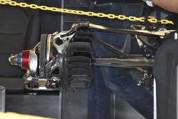 Mercedes AMG F1 W08 montaje de freno trasero