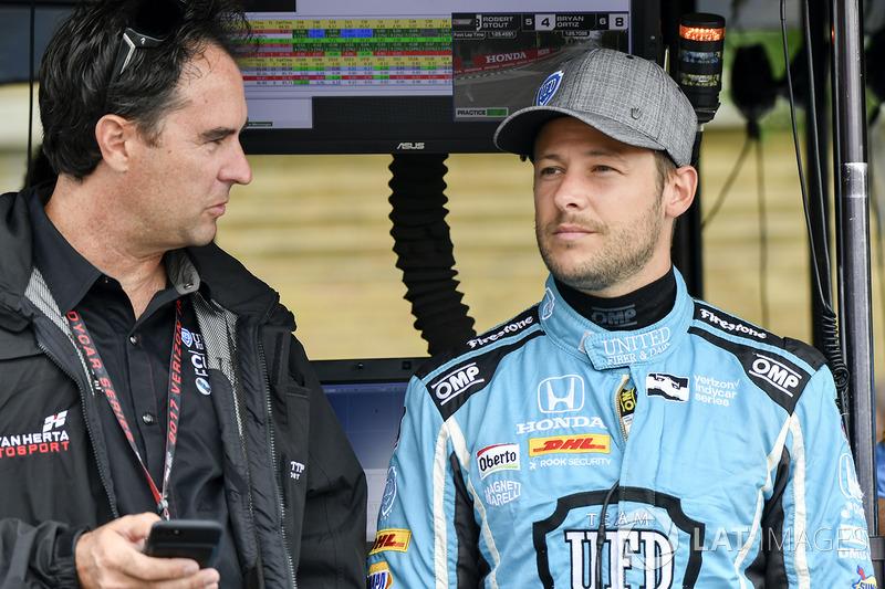 Marco Andretti, Andretti Autosport Honda, mit Bryan Herta