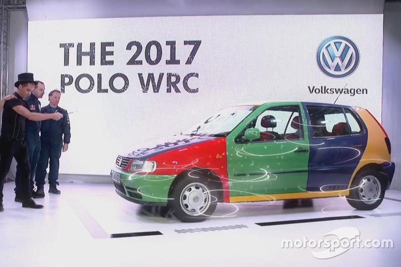 La presentación de VW WRC 2017 (captura de pantalla)