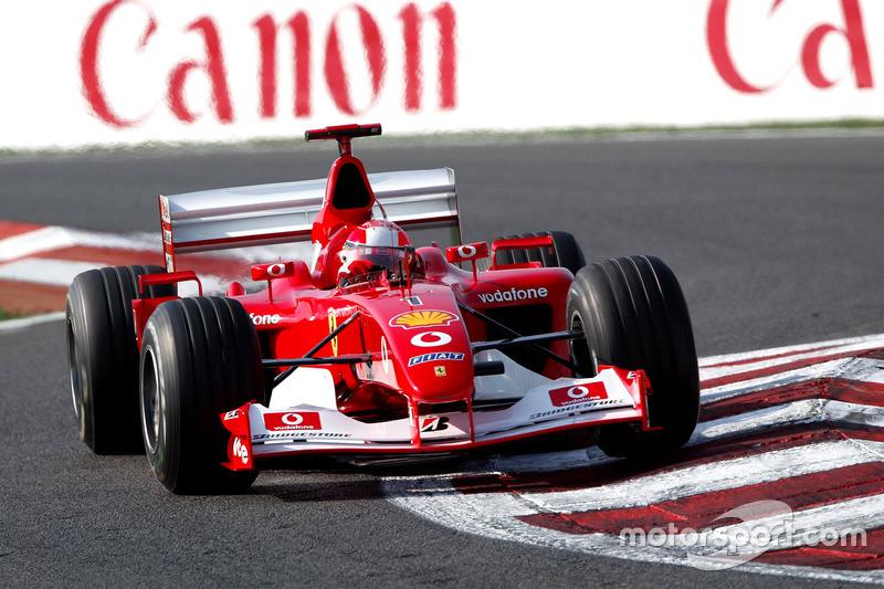 2002: Михаэль Шумахер, Ferrari F2002