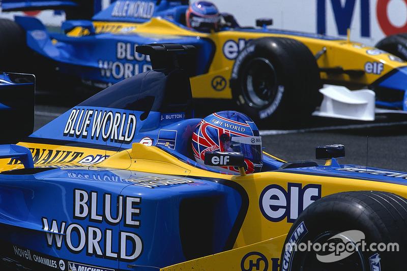 Дженсон Батттон і Ярно Труллі,  Renault R202