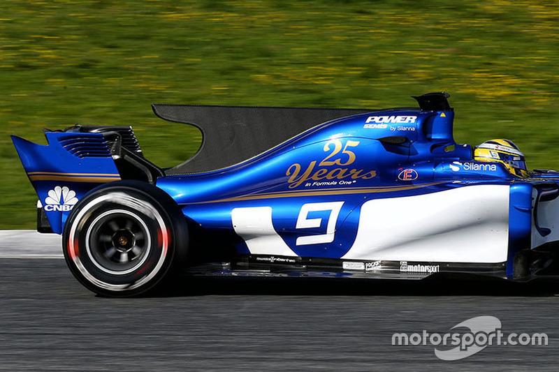 2017: Marcus Eriksson, Sauber C36