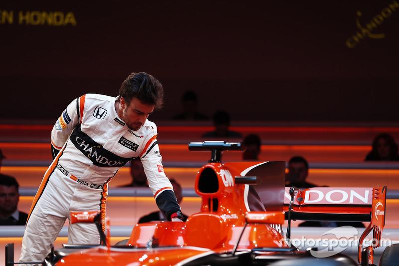 Fernando Alonso, McLaren, mit dem McLaren MCL32