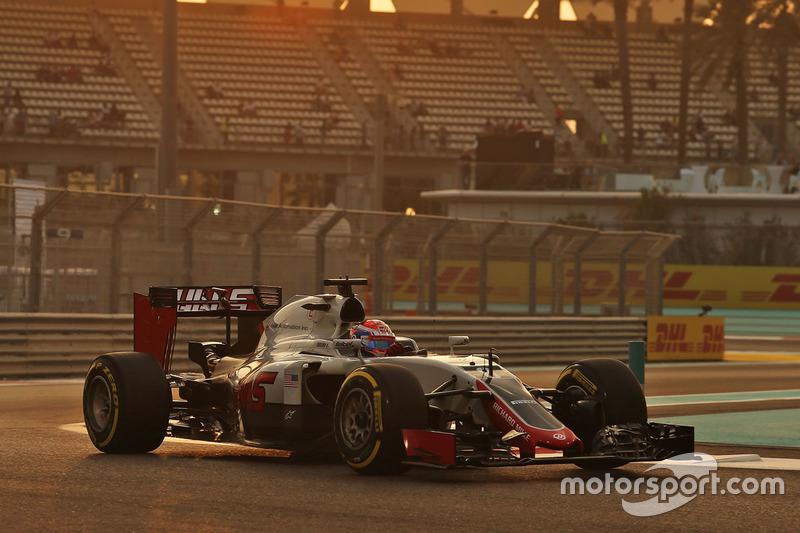 14: Romain Grosjean, Haas F1 Team VF-16