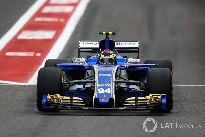 Ausfall: Pascal Wehrlein, Sauber C36