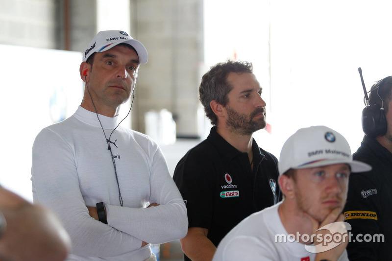 Jörg Müller,  Walkenhorst Motorsport y Timo Glock, BMW Team SRM