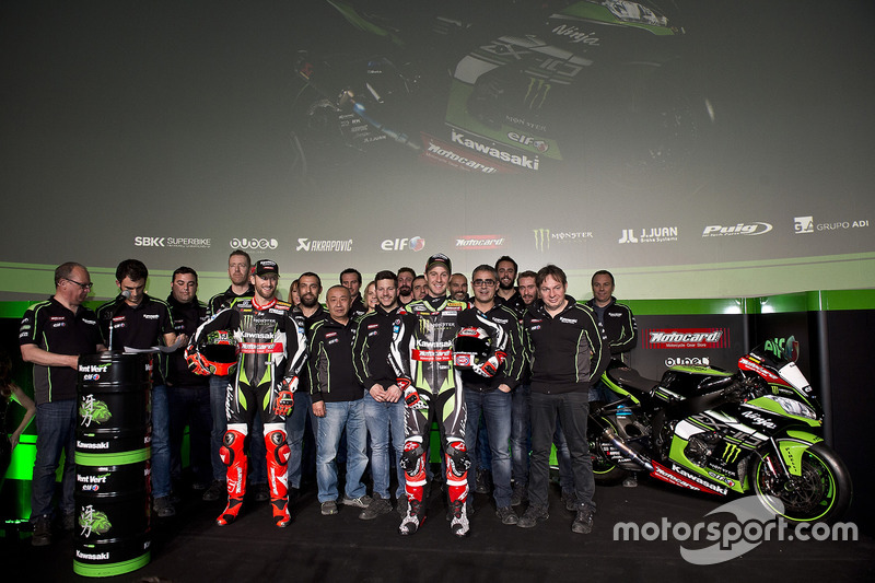 Tom Sykes, Jonathan Rea et le Kawasaki Racing Team