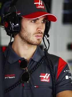 Antonio Giovinazzi, Haas F1 Team test driver