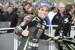 Pole sitter Johann Zarco, Monster Yamaha Tech 3