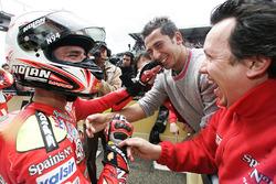 Race winner Marco Melandri, Fortuna Honda