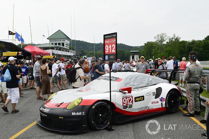 #912 Porsche Team North America Porsche 911 RSR