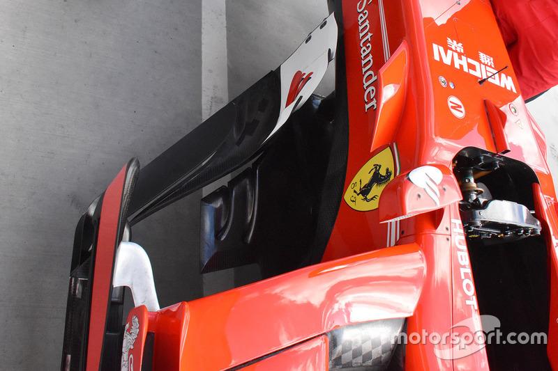 Ferrari SF70-H sidepods detail