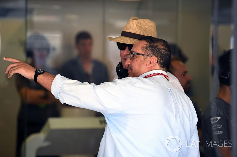 Scheich Mohammed bin Essa Al Khalifa, Mansour Ojjeh, TAG-Chef