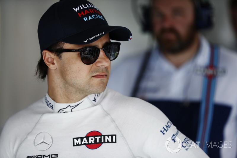 Felipe Massa teve mais um dia difícil e sairá apenas da 11ª posição.