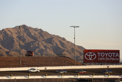 Toyota Tundra Pace Truck leading Christopher Bell, Kyle Busch Motorsports Toyota and Ben Rhodes, Tho