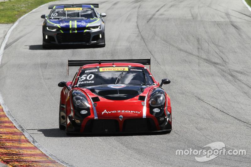 #50 Team Panoz Racing Panoz Avezzano GT: Ian James
