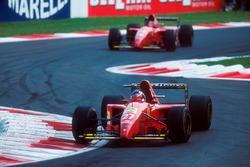 Жан Алезі, Ferrari 412T2, Герхард Бергер, Ferrari 412T2