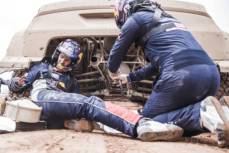 #308 Peugeot Sport, Peugeot 3008 DKR: Сіріль Депре, Давід Кастера