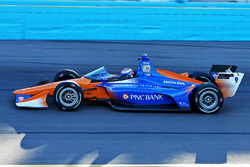 Scott Dixon, Chip Ganassi Racing Honda, mit Cockpitschutz
