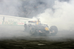 David Coulthard en su Red Bull Racing RB3